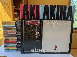 AKIRA Complete EPIC Set #1-38 Comics + Tetsuo Poster Katsuhiro Otomo SUPERB SET