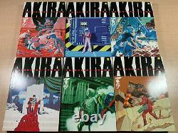 AKIRA Manga Volumes 1,2,3,4,5,6! Complete Tpb Set! 1st Print! Dark Horse 2000