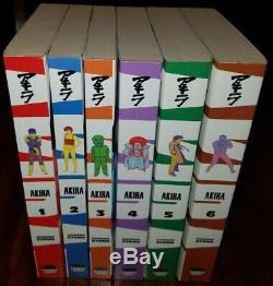 AKIRA Vol. 1-6 English Manga Complete Set by Katsuhiro Otomo Graphic Novel
