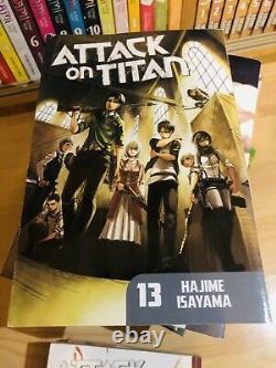 ATTACK ON TITAN 1-31 Manga Collection Complete Run Volumes Set ENGLISH RARE