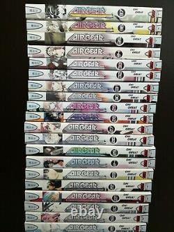 Air Gear English Manga Vol 1-37 Complete Near Mint OOP Rare Vol 28