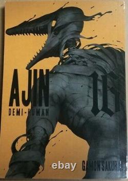 Ajin Demi-human Vols. 1 16 English Manga Graphic Novels complete set Brand New