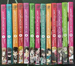 Anonymous Noise Vol 1-18 Manga English Complete Set by Ryoko Fukuyama