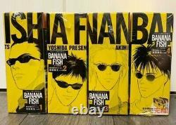 BANANA FISH Comics Reprinted BOX VOL 1-4 Complete Set Book NEW Anime Manga Comic