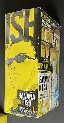 BANANA FISH Japanese Comic book Complete Vol. 1 to 20 Box set Manga Akimi Yoshida