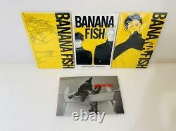 BANANA FISH Reprinted BOX VOL 1-4 Complete Set Manga Comics Shogakukan anime