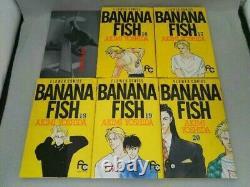 BANANA FISH Reproduction BOX ALL19 Manga Comic Complete Set / Ship by DHL