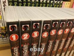 BERSERK 1-23 Manga Collection Complete Set Run Volumes ENGLISH RARE