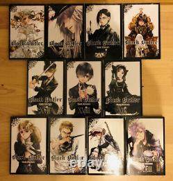 BLACK BUTLER 1-23 Manga Collection Complete Set Run Volumes ENGLISH RARE