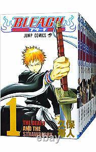 BLEACH vol. 1-74 manga Complete set Shonen Jump comics Language Japanese