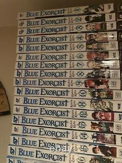 BLUE EXORCIST Volumes 1-24 Manga Complete Collection Set Run Volumes In English