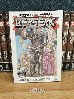 Beserk Manga Complete Collection 1-40 & guidebook