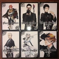 Black Butler Manga Volume 1-26 English Near Complete