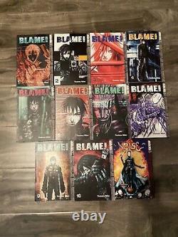 Blame! Manga Volume 1-10 Complete Set English Tokyopop, Tsutomu Nihei and NOiSE