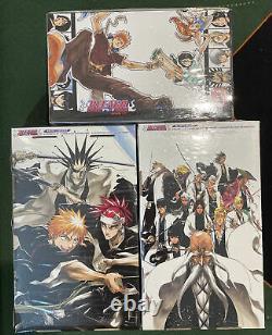 Bleach Complete Box Set 1-3 (Vol 1-74) Manga English by Tite Kubo