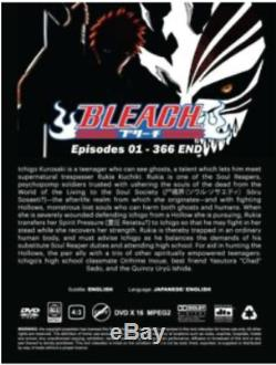 Bleach Complete Collection Series 1-16 DVD All Season Episodes 1-366 Brand New