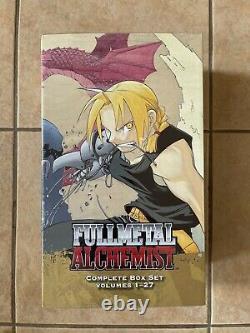 Brand New Sealed! Fullmetal Alchemist Manga Box Complete! Vol 1 27 English Viz