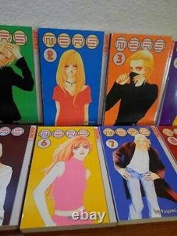 COMPLETE Mars Vol. 1-15 + Horse With No Name Fuyumi Soryo USED GREAT COND