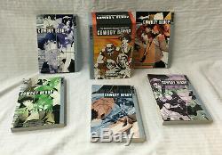 Cowboy Bebop Tokyopop Complete Box Set 1-3 and 1-2 Shooting Star Manga! RARE