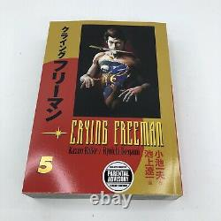 Crying Freeman English Manga Vol 1-5 Complete Book Set