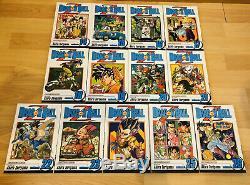 DRAGON BALL Z DBZ 1-26 Manga Collection Complete Box Set Run Volume ENGLISH RARE