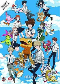 Digimon Adventure Tri The Complete Movie Collection (DVD) Joshue Sethhall