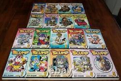 Dr. Slump English Manga 1-18 Graphic Novels Brand NEW Shonen complete set