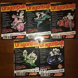 Dragon Ball and Dragon Ball Z Manga VizBig Volume 1-5 + 1-9 English Complete