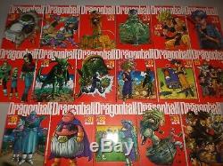 Dragonball Kanzenban Japanese Manga complete set volumes 1-34 USA Seller Z