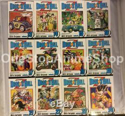Dragonball Z manga set volumes 1-26 english paperback complete new