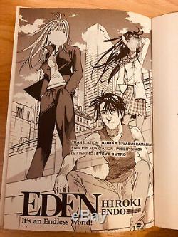EDEN ITS AN ENDLESS WORLD! 1-14 Manga Collection Complete Set Run ENGLISH RARE