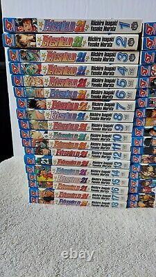 EYESHIELD 21 Manga English lot COMPLETE SET volume 1-37 Viz Media 1st Print