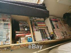 Entire Manga collection! Over 600 volumes +Extras