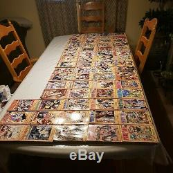 Fairy Tail Manga Complete Set Book Lot of Volumes 1 63 English EC Hiro Mashima