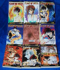 Flame of Recca vol 1,2,3,4,5,6,7,8,9,10,11,12,13,14,15-33 Manga Complete English