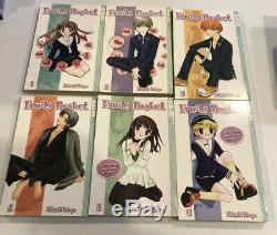 Fruits Basket Complete Set Volumes 1-23 Tokyopop Manga Oop Readers Set