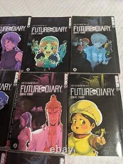 Future Diary Vol 1-10 Complete English Manga Tokyopop Sakae Esuno Mirai Nikki