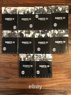 Gantz Complete Volume 1-37 English OOP NM