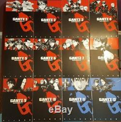 Gantz Manga 1-37 ENGLISH Manga Hiroya Oku Complete! Very Rare HTF OOP