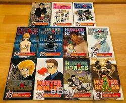 HUNTER X HUNTER 1-32 Manga Collection Complete Set Run Volumes ENGLISH RARE
