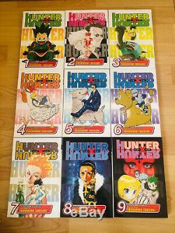 HUNTER X HUNTER 1-36 Manga Complete Collection Set Run Volumes ENGLISH RARE