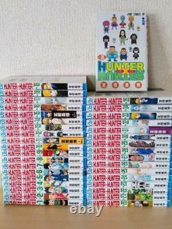 HUNTER X HUNTER 1-36 complete Full Set used comic Yoshihiro Togashi manga anime