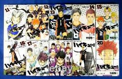 Haikyu! 1-45 Comic Complete set Haruichi Furudate /Japanese Manga Book Japan