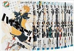 Haikyuu Volume 1 45 complete manga comics Set Japanese ver. Haruichi Furudate