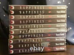 Happiness English Manga Complete Set Shuzo Oshimi 1 2 3 4 5 6 7 8 9 10