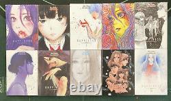 Happiness Vol 1-10 English Manga Complete Set by Shuzo Oshimi