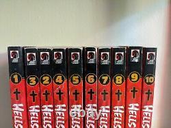 Hellsing Manga Complete Series Set Lot 1-10 English Dark Horse OOP 1st Edition