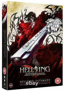Hellsing Ultimate Volume 1-10 Complete Collection (DVD)