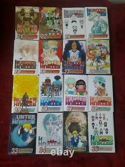 Hunter x Hunter Manga Collection Complete Volumes 1-36 English Rare