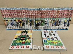 Hunter x Hunter Whole Volume 1 36 complete manga Set japanese version